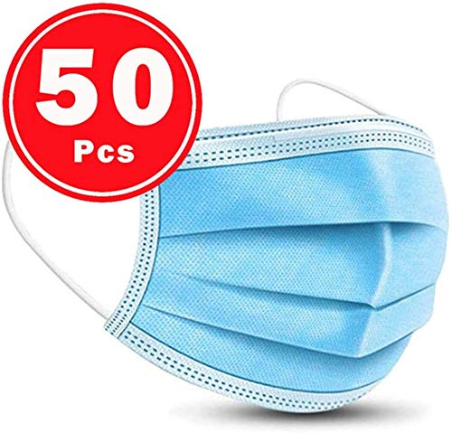 50Pcs  3PLY  Blue  LEMSIR