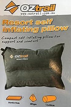 OZtrail Oreiller Autogonflant Resort ACS-TPR-B Resort Self Inflating Pillow Mousse à Cellule à gonflement Rapide - Resort Self Inflating Pillow