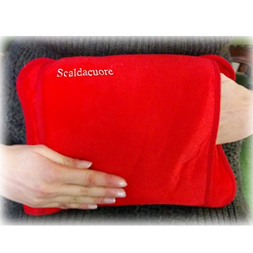 borsa acqua calda elettrica amazon Scaldacuore Borsa Acqua Calda Elettrica Luxury Rosso