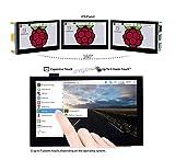 4.3 inch Raspberry Pi IPS LCD Capacitive Touch Display Screen 800×480 4.3inch IPS Wide Angle MIPI DSI Interface for Raspberry Pi 4 3 2 Model B B+ A+ Raspbian Retropie Ubuntu Driver Free @XYGStudy