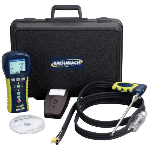Check Out This Bacharach PCA3 285 0024-8453 Portable Combustion Analyzer Kit, Includes O2, CO, NO, C...