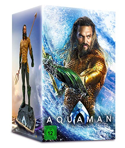 Aquaman Ultimate Collector's Edition inkl. Aquaman Sammlerfigur & Steelbook [3D + 2D] [Blu-ray]