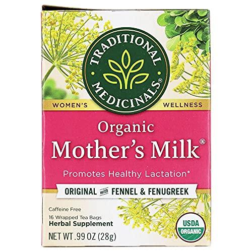 Traditional Medicinals Organic Womens Tea Mothers Milk 16 pckts