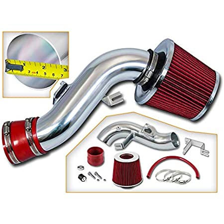 with Filter Filter Combo BLACK Compatible For 98-02 Toyota Corolla Rtunes Racing Short Ram Air Intake Kit