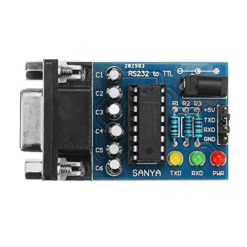 Módulo electrónico A TTL Converter Module Transfer Fip con 4pcs Cables RS232...