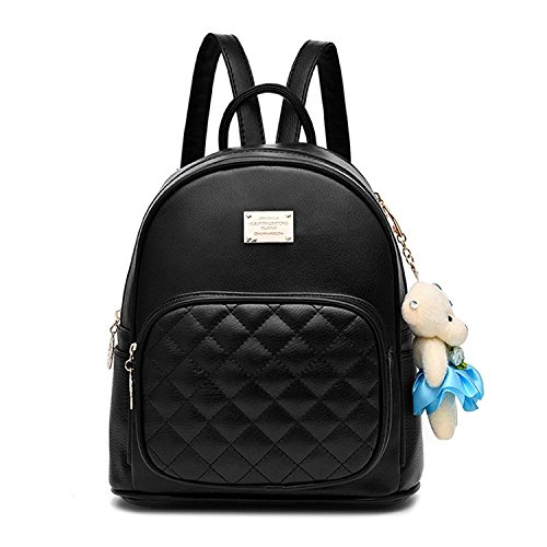 【Fabric】the backpack is made from the artificial leather (PU), the lining cloth is for polyester. the fabric is durable enough for long-time usage. 【Colors】multicolors can be your choice,black,pink,burgundy,light grey,dark blue,white,cinnamon. 【Size】...
