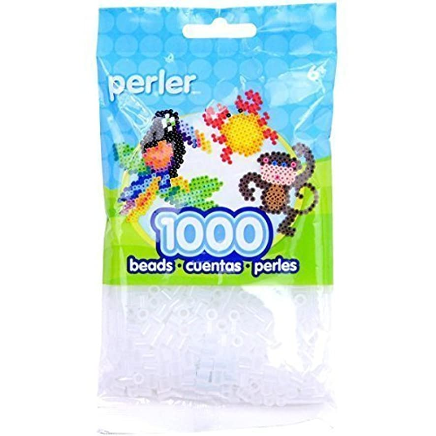 Bulk Buy: Perler Beads 1,000 Count Clear (3 Pack)