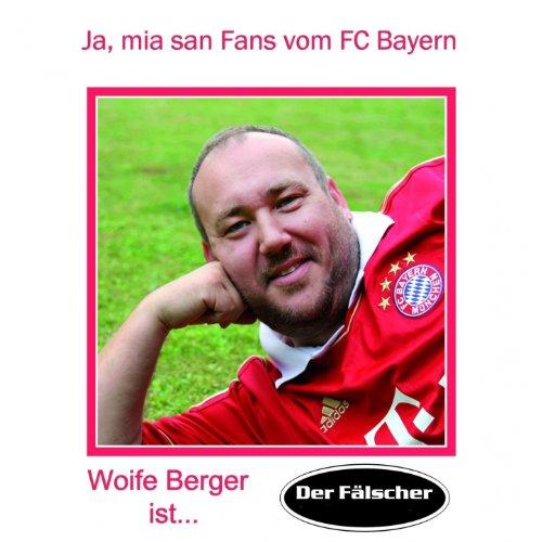 Ja, mia san Fans vom FC Bayern