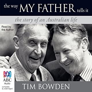 The Way My Father Tells It audiobook cover art