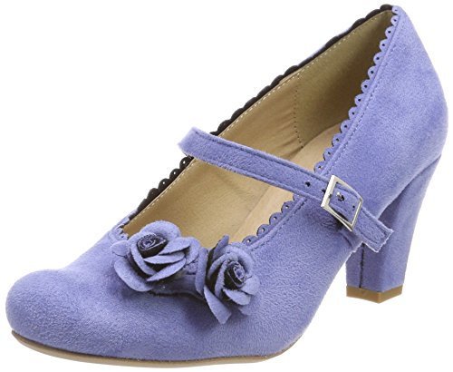 HIRSCHKOGEL Damen 3002724 Pumps, Violett (Flieder), 41 EU