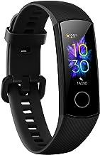 Honor Band 5 Fitness Armband Heart Rate 0,95 Inch Kleurrijk Amoled-display 5ATM Waterdicht Sportsporten Polshorloge Zwart