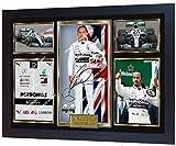 SGH SERVICES Poster Lewis Hamilton Mercedes AMG Autogramm