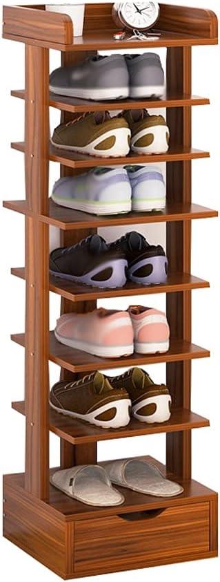 At the price YHshop Free Standing Shoe Rack Racks 8-Layer Floor-Standing mart
