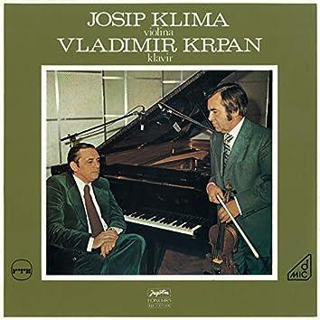 Josip Klima, Violina - Vladimir Krpan, Klavir