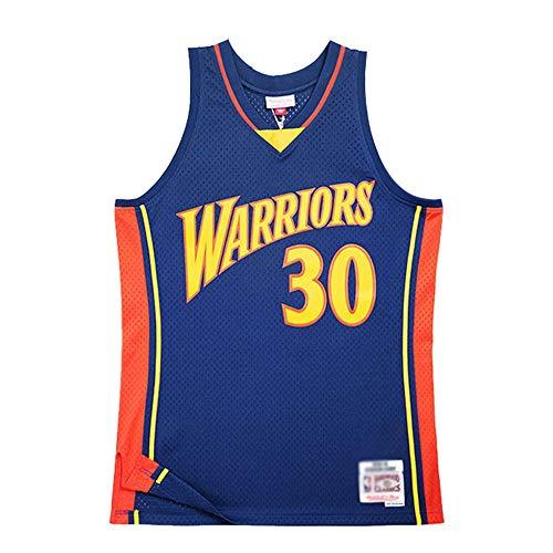 HJSW Maglia da Basket NBA Uomo, Vintage Swingman Jersey, 2009 Stephen (Stephen Curry) # 30, Maglie Canotta NBA Tuta da Basket Pallacanestro Uniforme, XS-XXL (Size : M)
