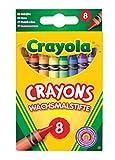 Crayola - 8 Ceras, variedad de colores (0008) , color/modelo surtido...