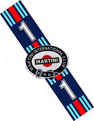 45cm! Aufkleber-Folie Wetterfest Made IN Germany Martini International Club AD88-UV&Waschanlagenfest-Auto-Vinyl-Sticker Decal Profi Qualität bunt farbig Digital-Schnitt!