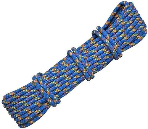 LIINAWS Corde Corde d'extérieur de 12MM, légère, résistante aux impacts et Polyvalente, résistante aux impacts et à la lumière du Soleil.