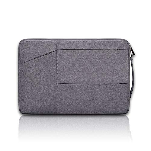 Protective Laptop Case Sleeve 15.6 Inch,Waterproof Slim Computer Bag Cover, Suitable for Daily Business Commuting and Leisure Outing, Dark Gray