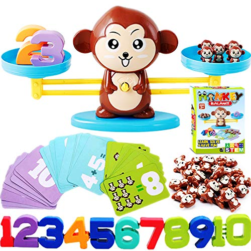 CozyBomB Monkey Balance Counting Math Game