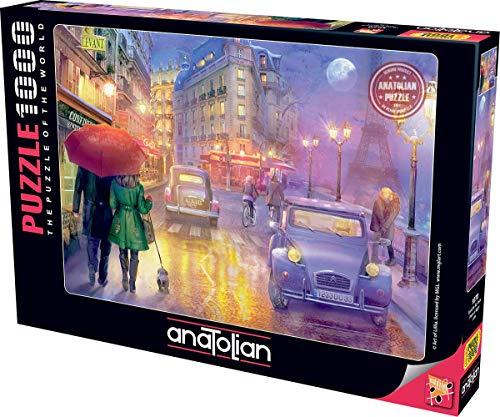 Anatolian Puzzle 1000 pièces: UNE Nuit à Paris, Lilia