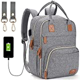 Best Diaper Bag Backpacks - Diaper Bag Backpack,Maternity Nappy Bag with USB Charging Review