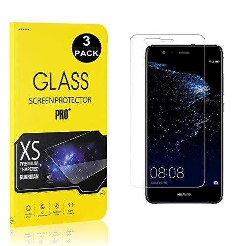 Bear Village® Displayschutzfolie für Huawei P10 Lite, 9H Hart Schutzfilm aus Gehärtetem Glas, Ultra klar Displayschutz Schutzfolie für Huawei P10 Lite, 3 Stück