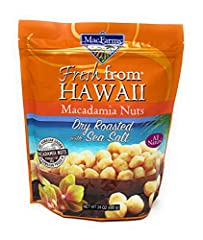 Dry Roasted with Sea Salt Huge 24oz Bag Fresh from Hawaii Good source of fiber and iron
