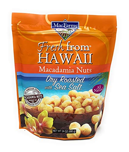 Macadamia Nuts | MacFarms Dry Roasted Macadamia Nuts