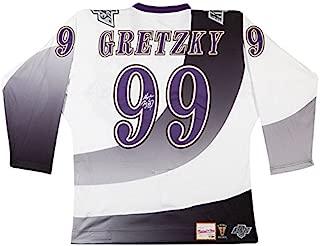 WAYNE GRETZKY Autographed Los Angeles Kings 1995-96 Jersey UDA