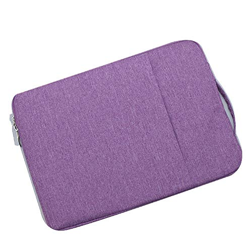 Lenovo IdeaPad Duet Chromebook用 (10.1インチ)/IdeaPad Duet 350i用(10.3インチ) ケース/カバー 手提げ ポーチ カバン型 軽量/薄 セカンドバッグ型 通勤 通学 おしゃれ レノボ 用 カバン型 ケース/カバー おしゃれ タブレットケース/カバー(パープル)