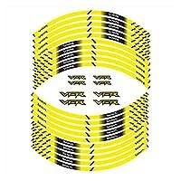 bazutiwns モーターサイクルホイールステッカーホンダVFRと互換性のあるデカールの装飾的なデカール HSLL (Color : 180198)
