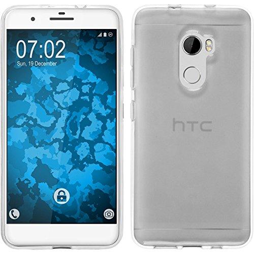 PhoneNatic Hülle kompatibel mit HTC One X10 - Crystal Clear Silikon Hülle transparent Cover