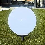 vidaXL Gartenlampe 50 cm LED Gartenleuchte Solarkugel Solarlampe Solarleuchte