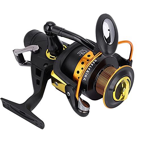 Carrete de pesca Pesca Spinning Reel KV Series Baitcasting agua salada Casting Wheel KV6000