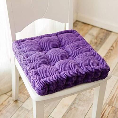 XinLuMing Sitzkissen für Stuhl, quadratisch, rund, dick Cushion Office sitzend ist Nicht müde Kissen Sofa Kissen Kissen Dicke weiche Kissen Schüler Klassenzimmer weichen Winter(ohne Stuhl)