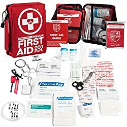 200 Piece Professional First Aid Kit