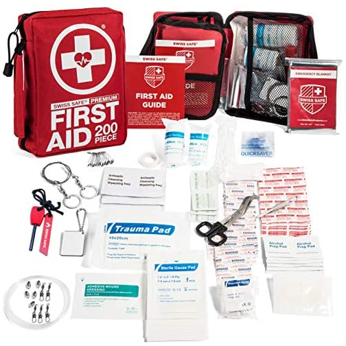 200-Piece Professional First Aid Kit for Home, Car or Work : Plus Emergency Medical Supplies for Camping, Hunting… 3