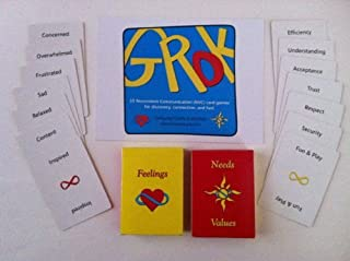 Original GROK games: 15 Nonviolent Communication Card Games