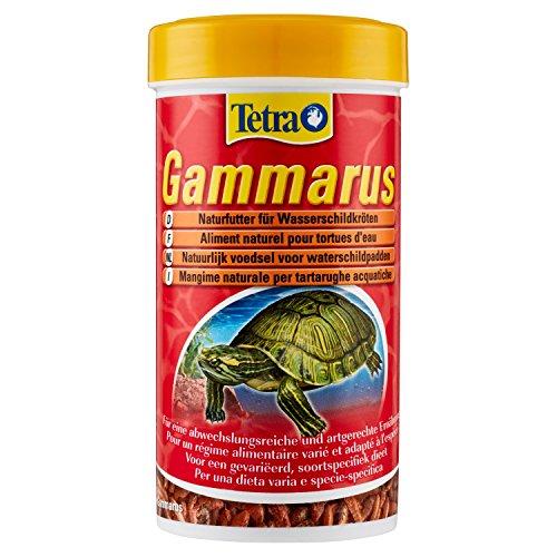 Tetra Gammarus, hochwertiges Naturfutter für Wasserschildkröten aus ganzen Bachflohkrebsen, 250 ml Dose