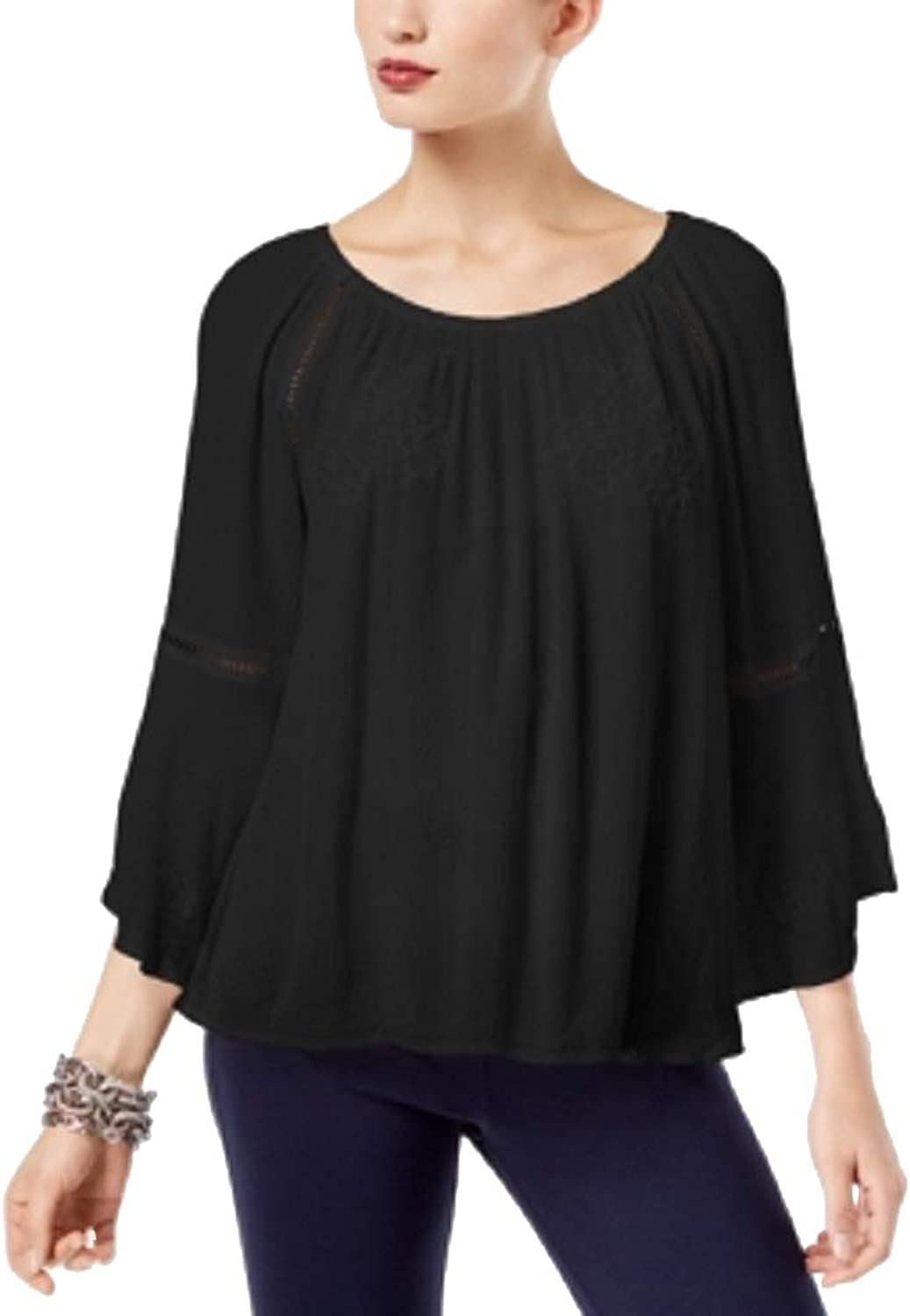 I.N.C. International Concepts Women's Embroidered Top