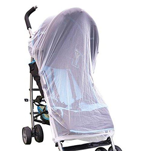 Klamboe Ongedierte muggen vliegen insecten net bescherming voor bed tweepersoonsbed kinderwagen buggy draagbed loopstal kinderbed (1 van 3) Netz Buggy