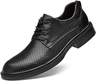 WMZQW Chaussure Homme Cuir Pointues de Style Britannique Classique Mariage Dressing Oxford d'affaires Chaussures Basses 38-48