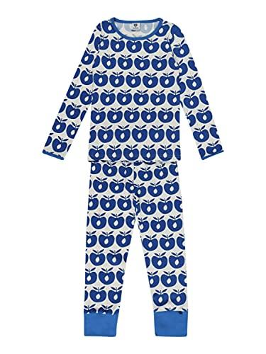 Småfolk Unisex Schlafanzug weiß 2/3 (92-98)