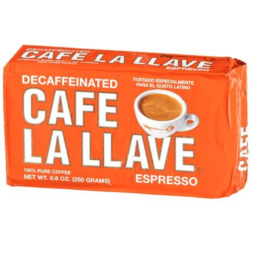 Limited Special Price La Llave Cafe Decafeinated Seattle Mall Espresso Pack 10 Cuban Coffee 8.8oz