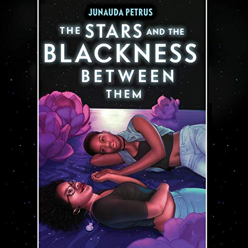 The Stars and the Blackness Between Them audiobook cover art