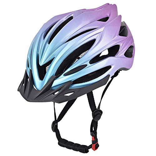 Fahrradhelm für Erwachsene, Rad- / Mountainbike-Fahrradhelm für Männer und Frauen mit abnehmbarem Visier, verstellbarem Dail, Lüftungsschlitzen