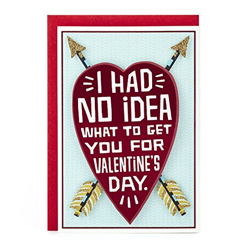Hallmark Shoebox Funny Valentine's Day Card for Significant Other (Heart and Arrows)