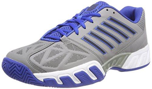 K-Swiss Performance KS Tfw Bigshot Light 3, Zapatillas de Tenis para Hombre, Gris (Titanium/Black/Strong Blue 48), 45 EU
