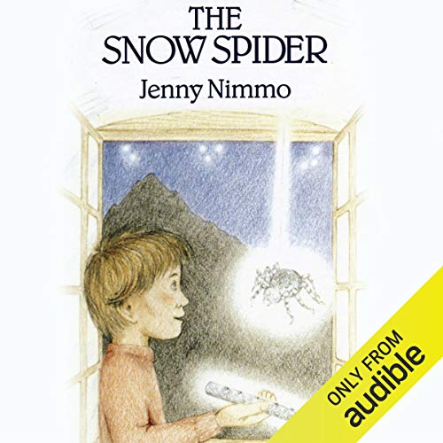 The Snow Spider audiobook cover art